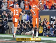 Hunter Renfrow compares his two national championships experiences at Clemson