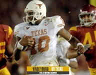 Former QB Vince Young discusses Mack Brown's halftime speech against USC