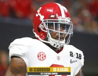Former Bama RB Bo Scarbrough reveals Nick Saban's halftime talk during 2018 title game