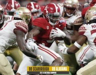Former RB Bo Scarbrough discusses memorable Florida State win from 2017