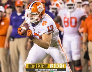 Hunter Renfrow breaks down game-winning TD for 2016 Clemson title